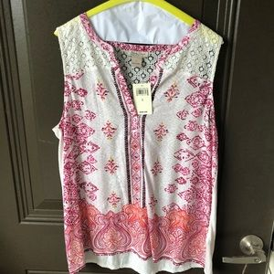 LUCKY BRAND tanktop NWT Large